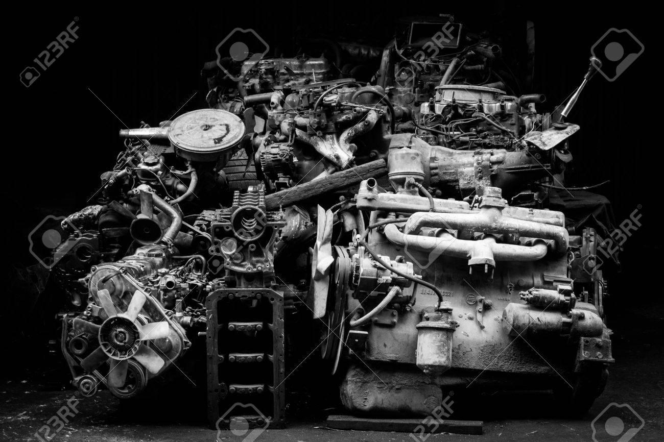 Auto spare parts engine