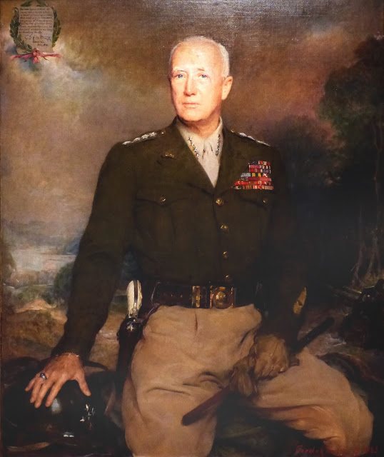 George S. Patton 1945 by Boleslaw Jan Czedekowki